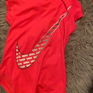 Little girls Nike shirt